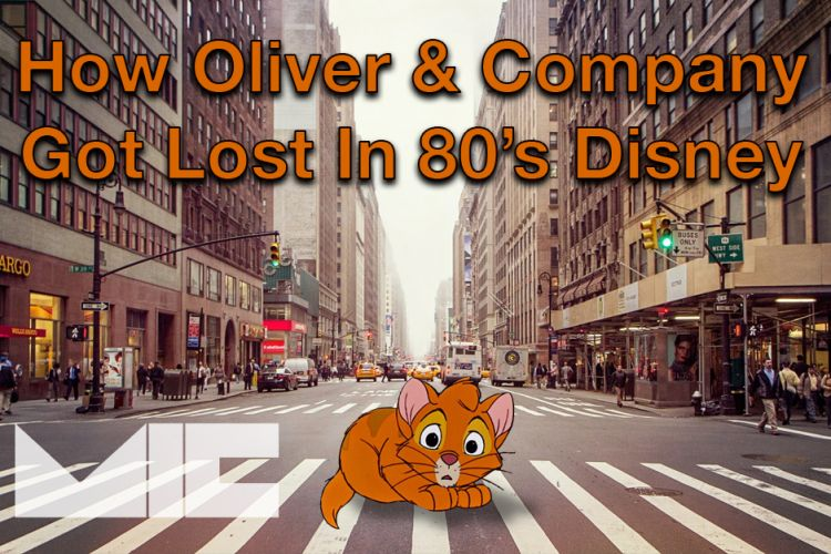 How Oliver & Company got lost in 80s Disney