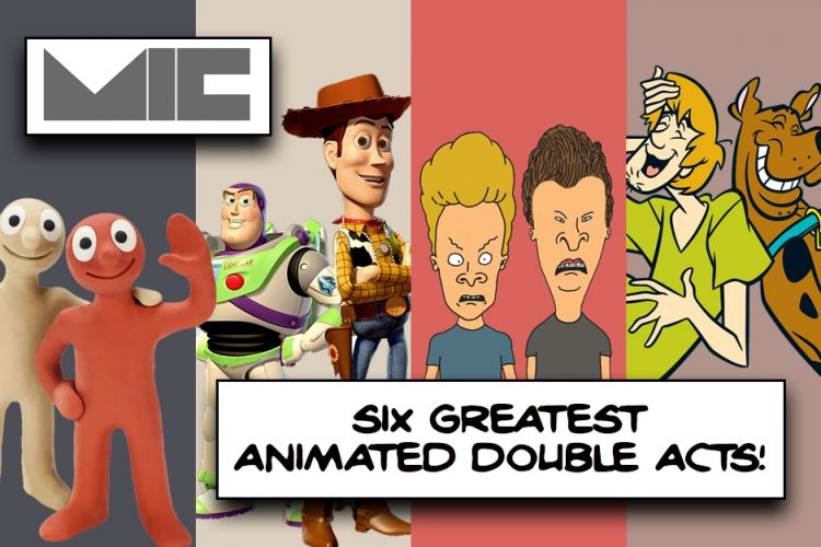 The Six Greatest Animated Double Acts….Ever
